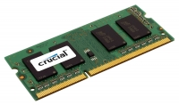 Модуль памяти SO DIMM DDR3 4Gb Crucial (CT51264BC1339) (PC10600, 1333МГц)